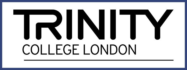 logo certificazione trinity presso la scuola di inglese a salerno, la wall street english